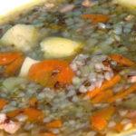 <b>Как приготовить гречневый суп</b>