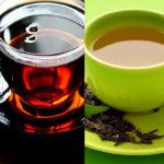 <b>Черный и зеленый чай: в чем разница, полезные свойства.</b>