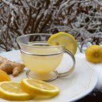 <b>Чай с имбирём спасёт от простуды в зимний день...</b>