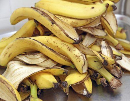 Интересные способы применения банановой кожуры